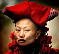 Red Hat Lady, Sapa Vietnam